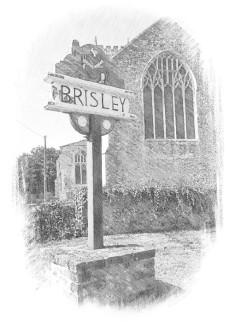 brisley-village-sign-depicting-richard-taverner